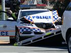 Police car involved in head-on smash at Redbank