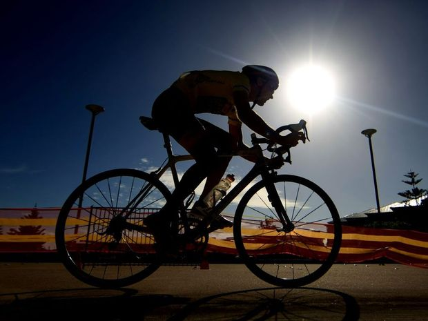 Cyclists in Australia are growing in number.