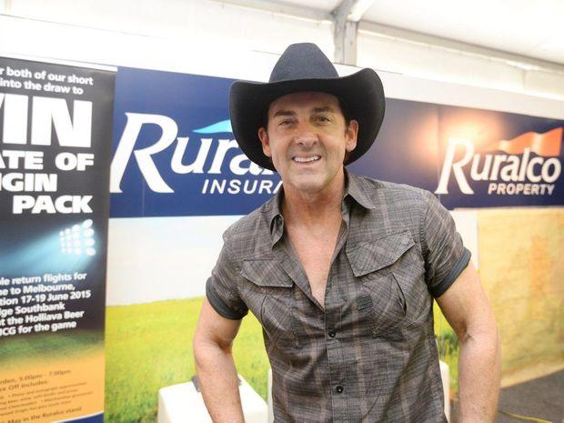Lee Kernaghan at Beef Australia 2015. Photo Allan Reinikka / The Morning Bulletin