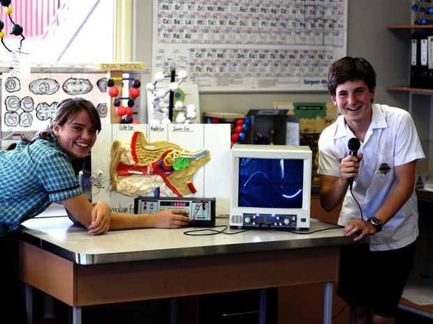 Emmanuel Anglican College students are gearing up for their Learning in Action Open Evening. Photo Contributed