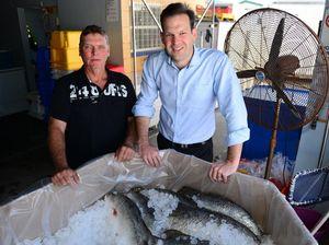 Senators meet Rockhampton's commercial fishermen
