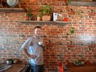 Jaco Van Ryssen has opened the Milk and Beans Coffee House in Alexandra Headland and is donating a percentage of its profits to homeless charities. Photo: Warren Lynam / Sunshine Coast Daily