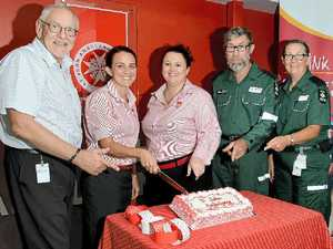 George and Elizabeth celebrate 30 years of first aid support