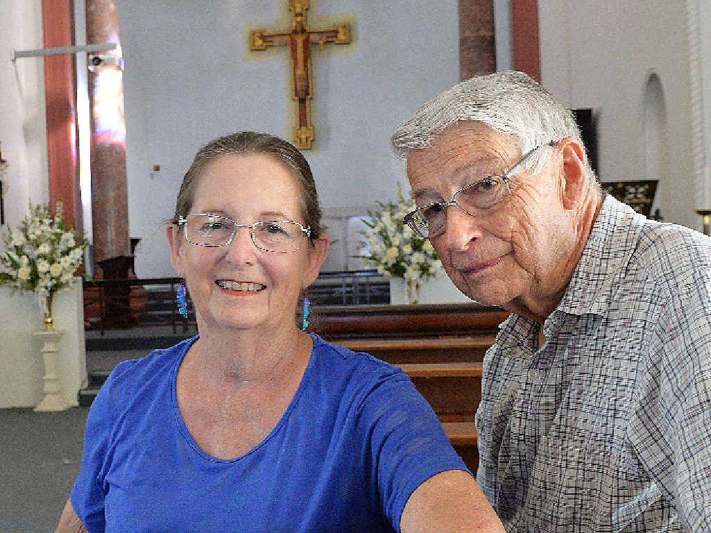 Reverend Ann Dittmar-McCollim and husband Keith Dittmar.