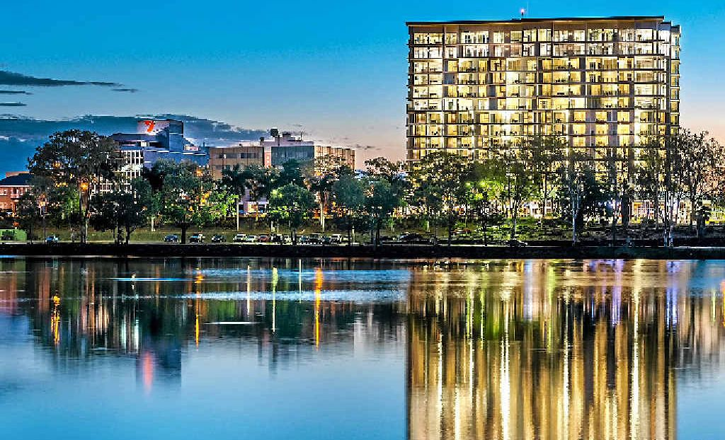 PERSONALITY PLUS: This stunning shot of the Empire Apartments was captured by Rockhampton photographer John Casey.