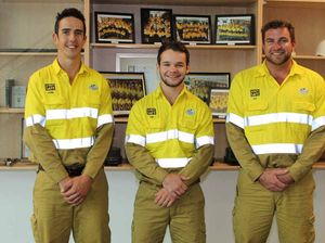 Central Queensland boys among 61 new Ergon apprentices