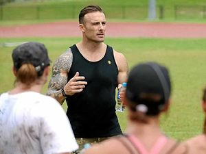 Get fit with TV's 'Commando'