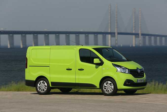 The 2015 Renault Trafic.