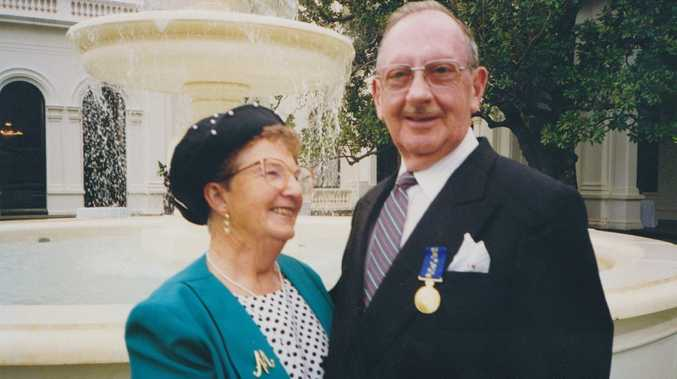 Prominent Bundaberg resident, Les Newman O.A.M., passed away March 12, 2015. Photo: contributed