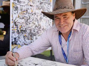 Beef Australia inspires artist