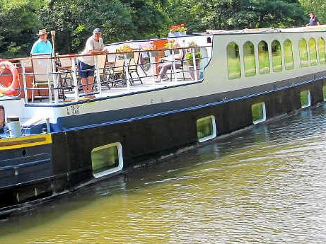 What better way to explore the countryside than on a barge, which urges holiday-makers to slow down.