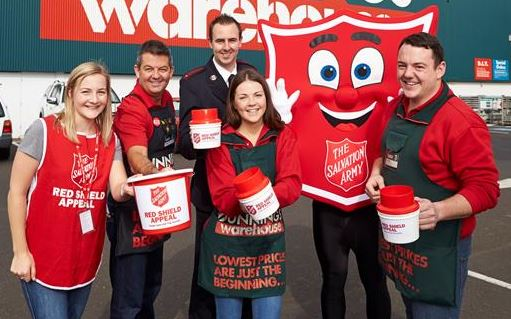 Coffs Harbour Bunnings staff has rallied to support the Red Shield appeal on May 30-31.