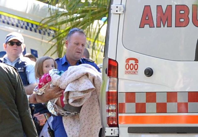 Relief has rushed over the community after Natalya Franklin, 9, was found safe and well in bushland near her home today