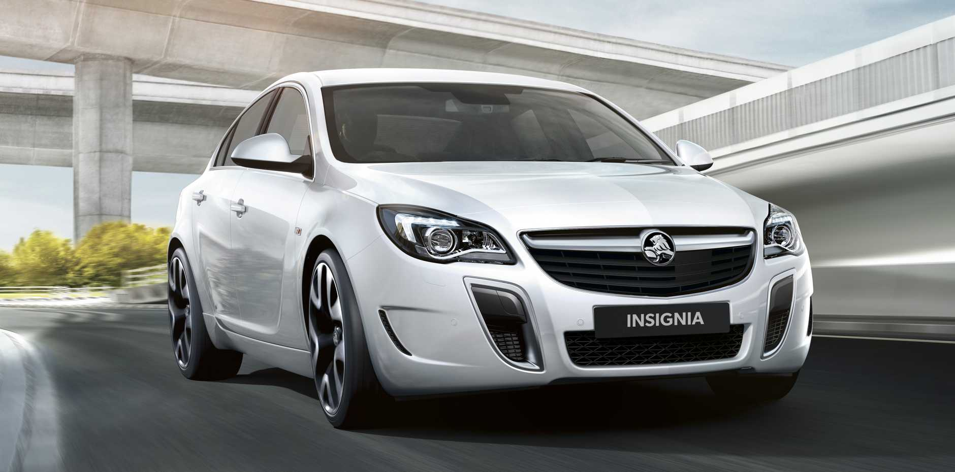 The new Holden Insignia VXR.