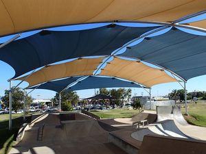 Skate park re-opens with new shade sails