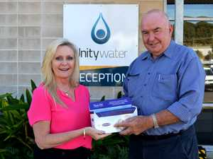 Unitywater and Rotary raise awareness of bowel cancer