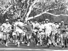 BIG SHOW: The start of the Hervey Bay High School boys' cross-country in May 1994.