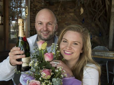 Siblings Tye and Camilla Hall won the Central Jewellers Diamond Dash winning a diamond ring valued at $10,000 and helping to raise funds for the Toowoomba Hospital's emergency department.