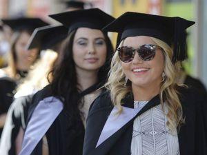 Uni grads march into their future