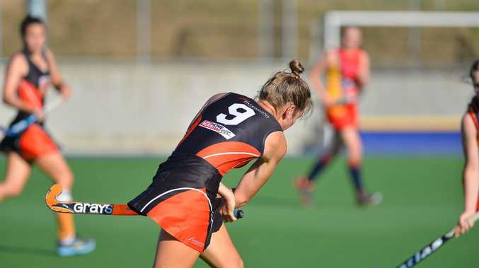 Womens A grade Hockey, Meteors vs Park Avenue. Photo Mike Richards / The Observer