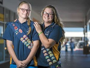 Girls keep family's Guides tradition alive