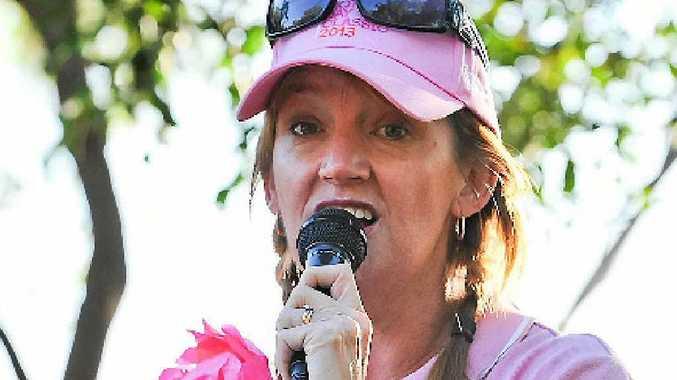 Tannum Sands Mother's Day Classic organiser Leesa Dwan.
