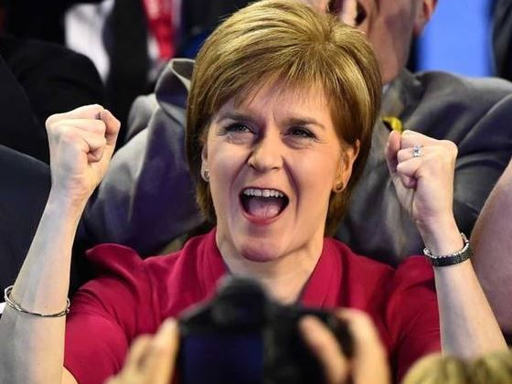 Sturgeon on election night: She will remain one of the most influential people in British politics in the coming five years