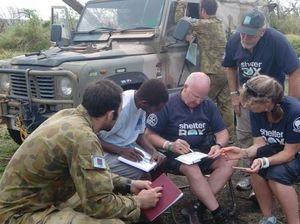 District 9650 Rotarians assisting cyclone victims in Vanuatu
