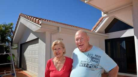Some Maroochy Waters residents are sick of the smell in their area. Maroochy Waters Dr couple Colin and Maxine Curtis are fed-up with the sewerage smell that wafts over their home. Photo: Warren Lynam / Sunshine Coast Daily