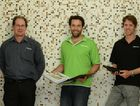 Taking the lead on strong ideas and innovation are, from left, Steve Cutting, Marek Karcz and Nicholas Moore of Aurecon, in Mackay.