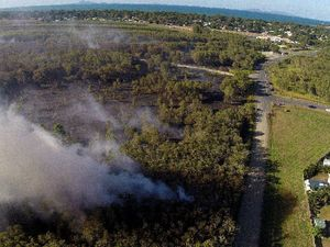 Bucasia grassfire tests fire crews