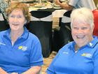 Maureen Edwards and Patricia Hughes from Cancer Council Queensland Gladstone Branch.