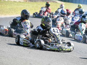 Karting newcomer makes his mark
