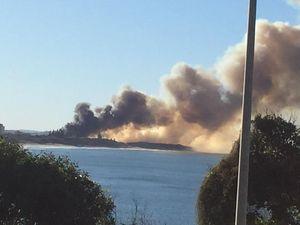 YOUR PHOTOS: Smoke billowing over Kawana a controlled burn