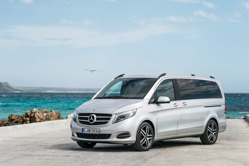 The Mercedes-Benz V-Class will arrive in July.