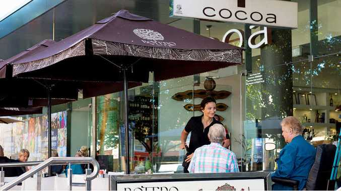 INCREASING SALES: Cafes and restaurants are enjoying stronger turnover.