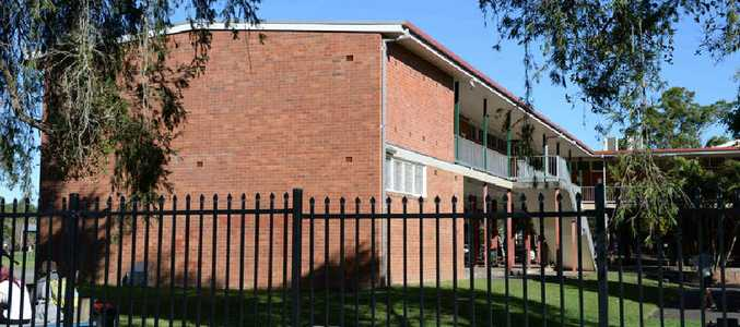 SCHOOL'S OUT: Asbestos has been found at Richmond River High School in Lismore, forcing the closure of 12 classrooms.
