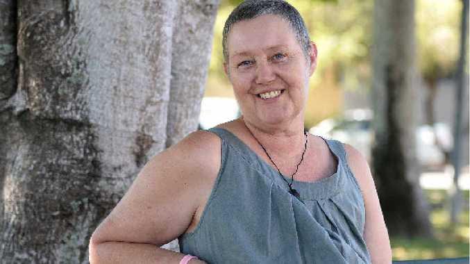 Daily Mercury key account executive Raewyn Gordon has kept a positive attitude to fighting cancer