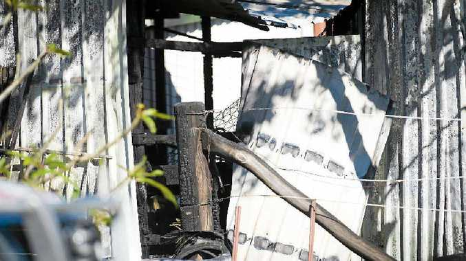 FIRE LOSS: A dressage horse died in a stable fire at Calliope on Tuesday.