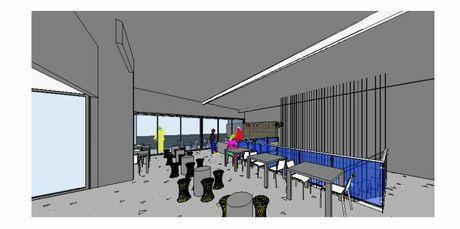 The upper floor bar in the Toowoomba CBD development.