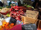 Fresh produce at the Hampton Festival.