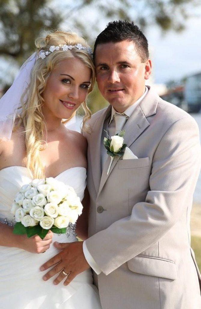 Paul Mochan and Bianca Fleming