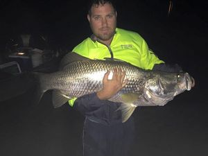 Massive barra feeds six with one fillet