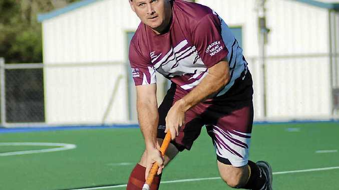 HOT: Cooloola Heat's Neil McKean (pictured) and team manager Tony Mills have made the over 40s Queensland team.