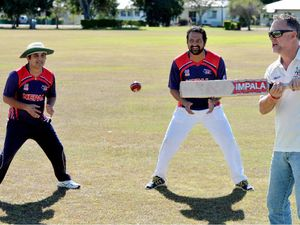 Batting to raise funds for Nepal