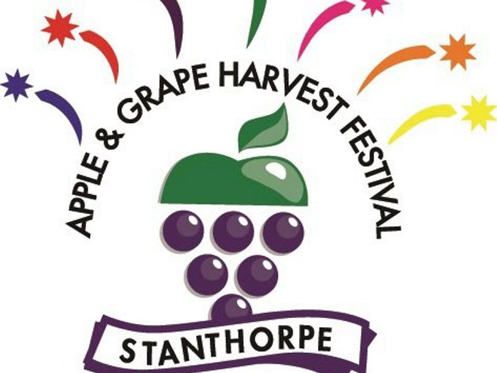 Apple and Grape Harvest Festival logo.