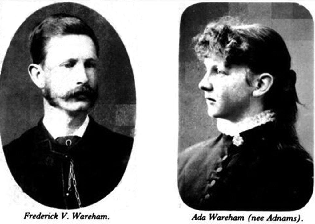 Frederick and Ada Wareham.