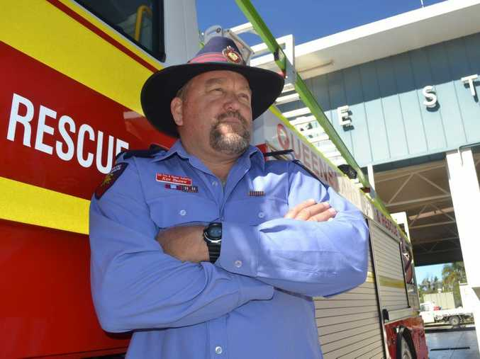 Veteran firefighter Ken Brown has quit the service after refusing to shave off his beard.