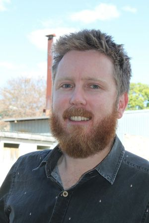 Chinchilla News editor Jim Campbell can't imagine life without his beard.