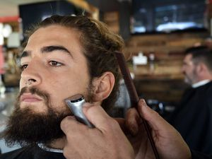 Bearded Men of the Sunshine Coast beard competition is on again.